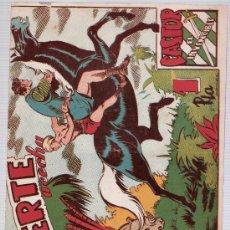 BDs: CASTOR EL INVENCIBLE Nº 43. EDITORIAL MARCO 1951.. Lote 24888808