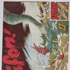 BDs: CASTOR EL INVENCIBLE Nº 41 EDITORIAL MARCO 1951.. Lote 24888809