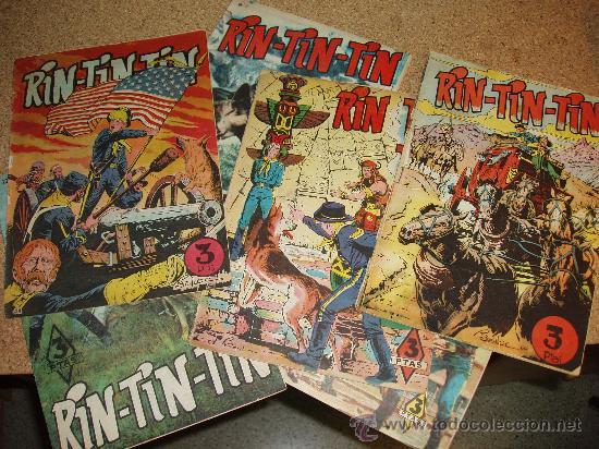 LOTE DE RIN - TIN- TIN (Tebeos y Comics - Marco - Rin-Tin-Tin)