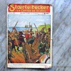 Tebeos: STCERTE: BECKER - UN CAPITÁN DE 18 AÑOS - Nº 33: STCERTE - BECKER EN ESPAÑA. Lote 16340026