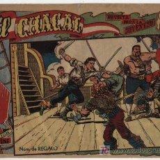 Tebeos: EL CHACAL Nº 1. MARCO 1959.. Lote 17141606