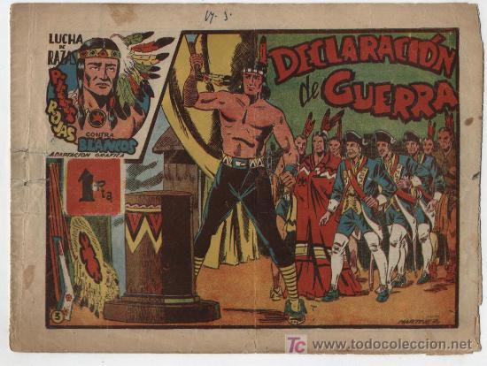 LUCHA DE RAZAS Nº 3. MARCO 1952. (Tebeos y Comics - Marco - Otros)