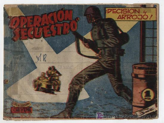 OPERACIÓN SECUESTRO Nº 7. MARCO 1959. (Tebeos y Comics - Marco - Otros)