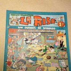 Livros de Banda Desenhada: LA RISA, 2ª ÉPOCA, Nº 28, UN AVANCE DE BARRILO. EDITORIAL MARCO, 1953. CON DIORAMA Y CROMO FÚTBOL.++. Lote 26079862