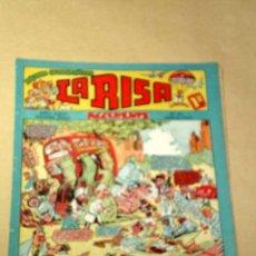 Tebeos: LA RISA, 2ª ÉPOCA, Nº 61, ACCIDENTE. EDITORIAL MARCO, 1954. BOIX, OSETE, BECH, RIZO, ANTONIO GARCÍA.. Lote 26195279