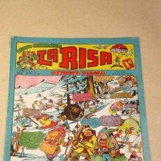 Tebeos: LA RISA, 2ª ÉPOCA, Nº 80, DEPORTE BLANCO. EDITORIAL MARCO, 1955. IBÁÑEZ, BOIX, OSETE, RIZO.+++. Lote 26038187