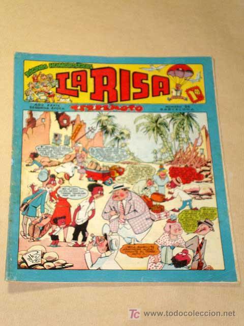 LA RISA, 2ª ÉPOCA, Nº 86, TERREMOTO. EDITORIAL MARCO, 1955. IBÁÑEZ, OSETE, BELINDO, RIZO, MESTRE.+++ (Tebeos y Comics - Marco - La Risa)