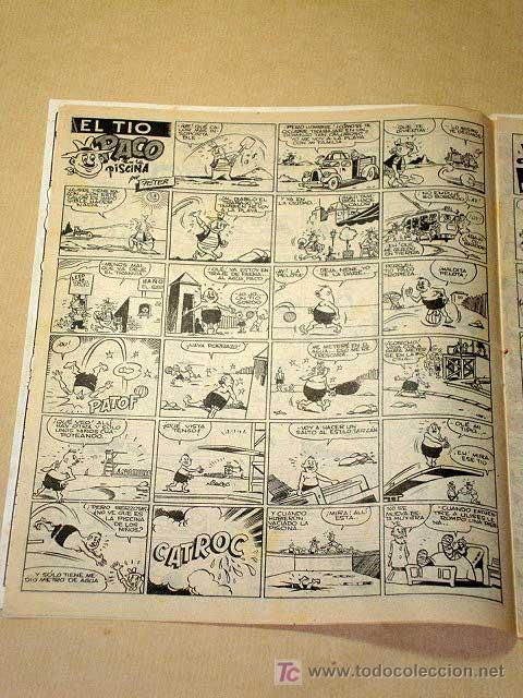 Tebeos: LA RISA, 2ª ÉPOCA, Nº 9, VERANEARÁ Y NO SE CANSARÁ EN. EDITORIAL MARCO, 1952. CON DIORAMA Y CROMO. + - Foto 2 - 26060095