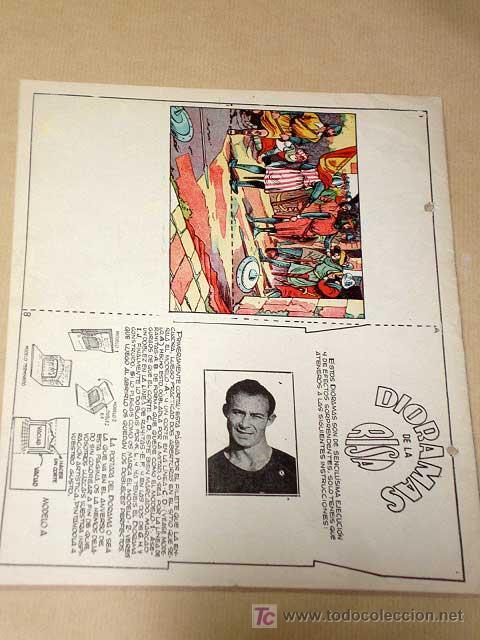 Tebeos: LA RISA, 2ª ÉPOCA, Nº 11, LOS INVENTOS HOJALATEROS. EDITORIAL MARCO 1952. CON DIORAMA Y CROMO FÚTBOL - Foto 3 - 26060096