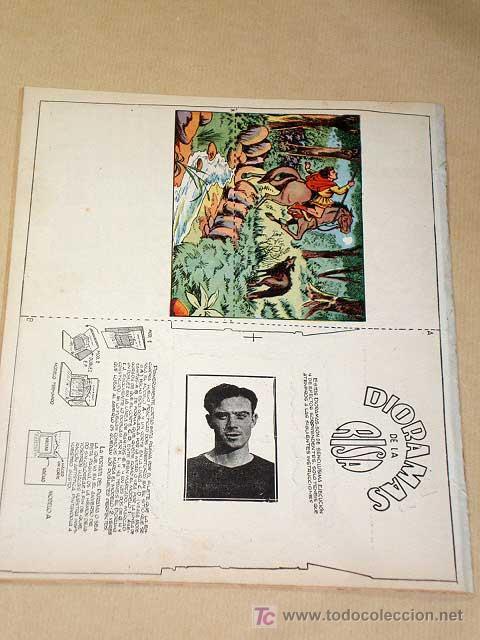 Tebeos: LA RISA, 2ª ÉPOCA, Nº 12, TORTILLA DEPORTIVA. EDITORIAL MARCO, 1952. CON DIORAMA Y CROMO FÚTBOL.++ - Foto 3 - 26060097