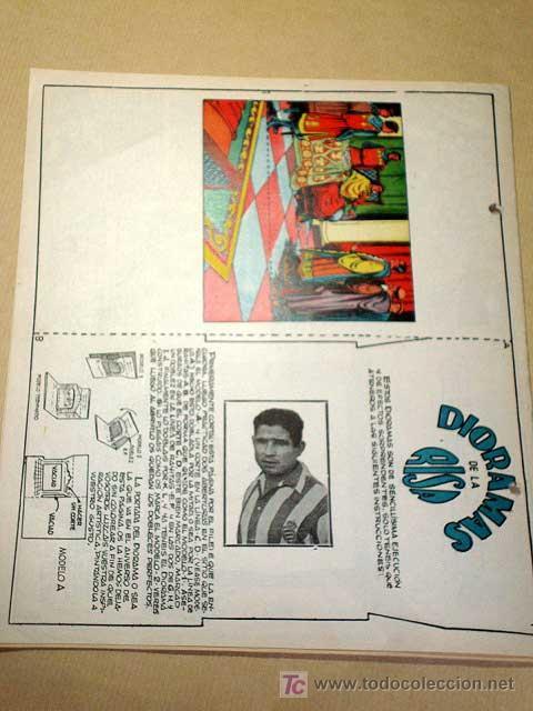 Tebeos: LA RISA, 2ª ÉPOCA, Nº 22, MUSEO DE ANTIGÜEDADES. EDITORIAL MARCO, 1953. CON DIORAMA Y CROMO FÚTBOL.+ - Foto 3 - 26095320