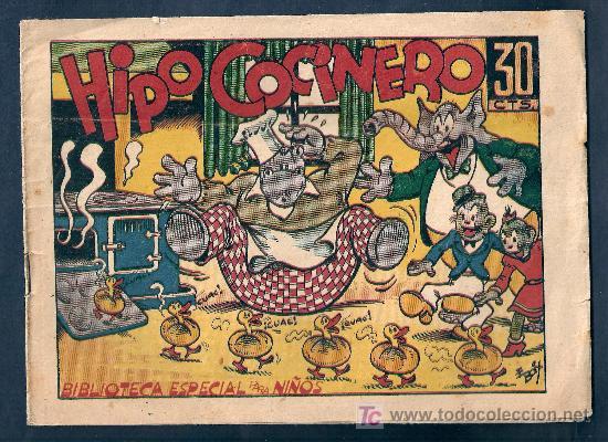 BIBLIOTECA ESPECIAL PARA NIÑOS - HIPO COCINERO - MARCO (Tebeos y Comics - Marco - Hipo (Biblioteca especial))