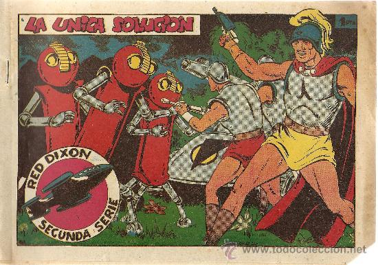RED DIXON Nº 68 SEGUNDA SERIE (ORIGINAL) EDITORIAL MARCO 1955 (Tebeos y Comics - Marco - Red Dixon)