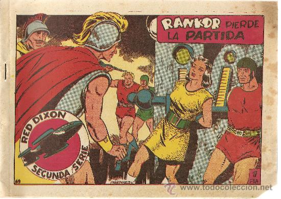 RED DIXON Nº 69 SEGUNDA SERIE (ORIGINAL) EDITORIAL MARCO 1955 (Tebeos y Comics - Marco - Red Dixon)