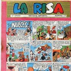 Tebeos: LA RISA Nº17 (EDITORIAL MARCO). Lote 26911841