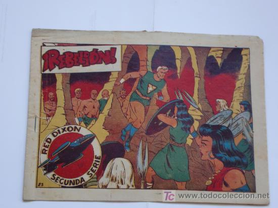 RED DIXON Nº 25 2ª SERIE ORIGINAL (Tebeos y Comics - Marco - Red Dixon)