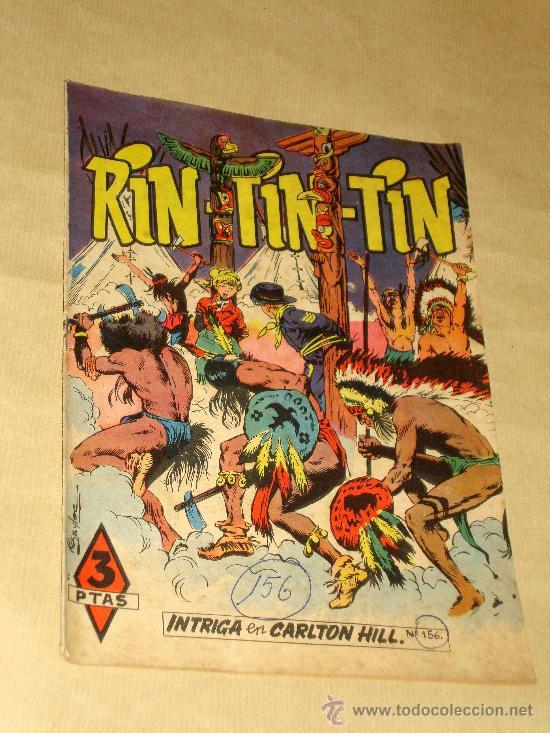 RIN TIN TIN Nº 156. BEYLOC, CASTILLO, FRANCO CAPRIOLI, BONO, MARTÍNEZ OSETE. EDITORIAL MARCO 1958. (Tebeos y Comics - Marco - Rin-Tin-Tin)
