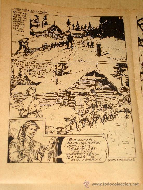 Tebeos: RIN TIN TIN Nº 156. BEYLOC, CASTILLO, FRANCO CAPRIOLI, BONO, MARTÍNEZ OSETE. EDITORIAL MARCO 1958. - Foto 2 - 27394397