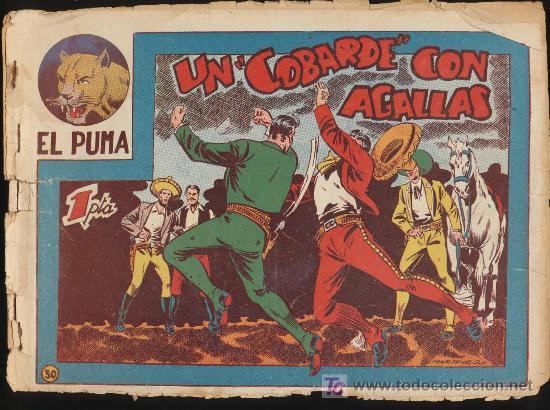 EL PUMA Nº 30. (Tebeos y Comics - Marco - Otros)