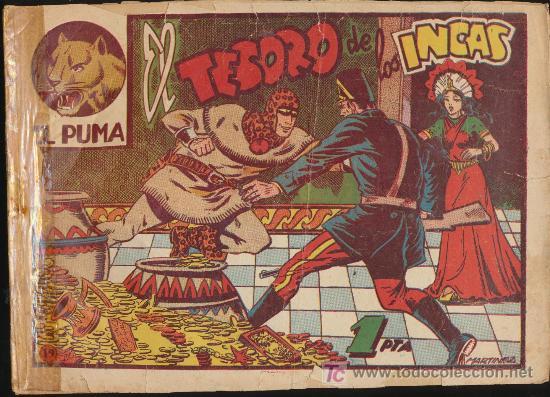 EL PUMA Nº 19. (Tebeos y Comics - Marco - Otros)