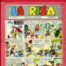 Tebeos: LA RISA Nº 7 , 3ª EPOCA ,ORIGINAL . Lote 27401808
