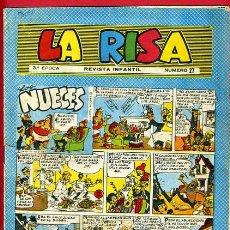 Tebeos: LA RISA Nº 27 , 3ª EPOCA ,ORIGINAL . Lote 27401812