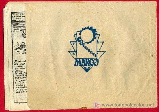 Tebeos: LOS NIÑOS AVENTUREROS , EDITORIAL MARCO , EL HOMBRE MISTERIOSO. 20 CTS. - Foto 2 - 24252120