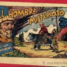 Tebeos: LOS NIÑOS AVENTUREROS , EDITORIAL MARCO , EL HOMBRE MISTERIOSO. 20 CTS.. Lote 24252120