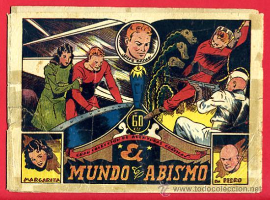 JAIME BAZAN , EL MUNDO DEL ABISMO, EDITORIAL MARCO , ORIGINAL (Tebeos y Comics - Marco - Otros)