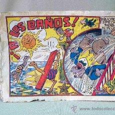 Tebeos: COMIC, ORIGINAL, HIPO, BIBLIOTECA ESPECIAL PARA NIÑOS, MARCO, 30CTS, A LOS BAÑOS. Lote 22953819