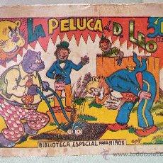 Tebeos: COMIC, ORIGINAL, HIPO, BIBLIOTECA ESPECIAL PARA NIÑOS, MARCO, 30CTS, LA PELUCA DE DON LEO. Lote 22953926