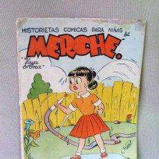 Tebeos: COMIC, MERCHE, TAPAS ESTAN SUELTAS, HISTORIETAS COMICAS PARA NIÑAS, . Lote 23020828