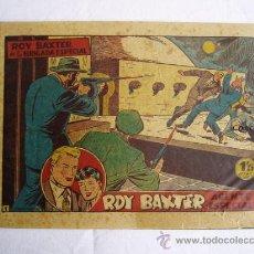 Tebeos: ROY BAXTER Nº 1 - JLV. Lote 16298318