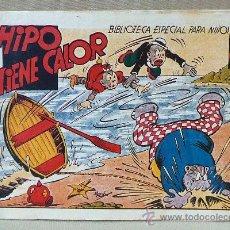 Tebeos: TBO, COMIC, BIBLIOTECA ESPECIAL PARA NIÑOS, HIPO TIENE CALOR, HIPO, GRAFICAS MARCO, 1940S. Lote 23358819