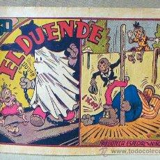 Tebeos: TBO, COMIC, BIBLIOTECA ESPECIAL PARA NIÑOS, EL DUENDE, HIPO, GRAFICAS MARCO, 1940S. Lote 23358834