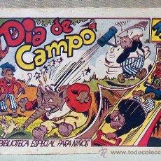 Tebeos: TBO, COMIC, BIBLIOTECA ESPECIAL PARA NIÑOS, DIA DE CAMPO, HIPO, GRAFICAS MARCO, 1940S. Lote 23358941