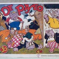 Tebeos: TBO, COMIC, BIBLIOTECA ESPECIAL PARA NIÑOS, DE PASEO, HIPO, GRAFICAS MARCO, 1940S. Lote 23359022