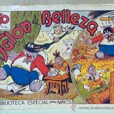 Tebeos: TBO, COMIC, BIBLIOTECA ESPECIAL PARA NIÑOS, SALON DE BELLEZA, HIPO, GRAFICAS MARCO, 1940S. Lote 23359084