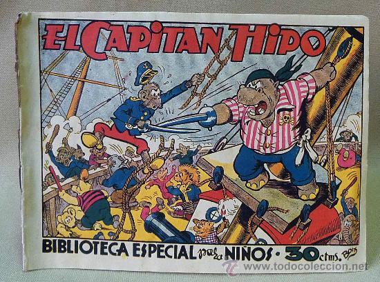 TBO, COMIC, BIBLIOTECA ESPECIAL PARA NIÑOS, CAPITAN HIPO, HIPO, GRAFICAS MARCO, 1940S (Tebeos y Comics - Marco - Hipo (Biblioteca especial))