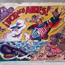 Tebeos: TBO, COMIC, BIBLIOTECA ESPECIAL PARA NIÑOS, POR LOS AIRES, HIPO, GRAFICAS MARCO, 1940S. Lote 23359489