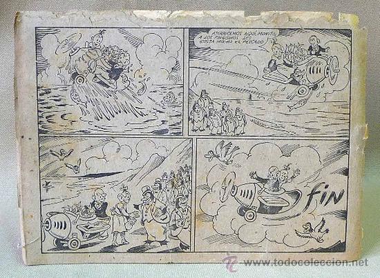 Tebeos: TBO, COMIC, BIBLIOTECA ESPECIAL PARA NIÑOS, POR LOS AIRES, HIPO, GRAFICAS MARCO, 1940s - Foto 2 - 23359489
