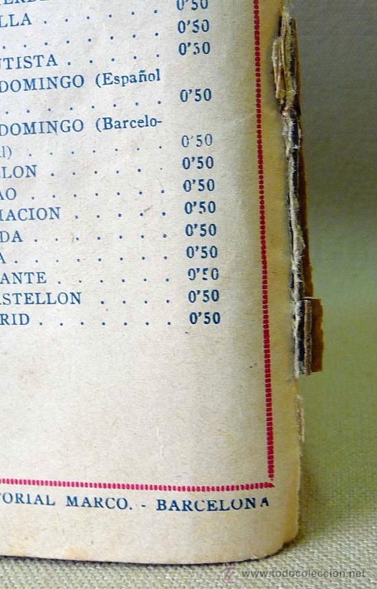 Tebeos: TBO, COMIC, BIBLIOTECA ESPECIAL PARA NIÑOS, EN LA LUNA, HIPO, GRAFICAS MARCO, 1940s - Foto 2 - 23359462