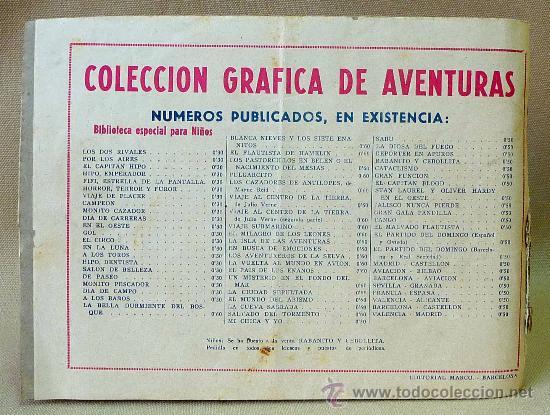 Tebeos: TBO, COMIC, BIBLIOTECA ESPECIAL PARA NIÑOS, EN LA LUNA, HIPO, GRAFICAS MARCO, 1940s - Foto 3 - 23359462