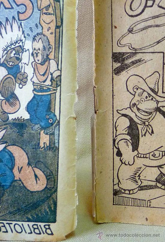 Tebeos: TBO, COMIC, BIBLIOTECA ESPECIAL PARA NIÑOS, EN EL OESTE, HIPO, GRAFICAS MARCO, 1940s - Foto 3 - 23359443