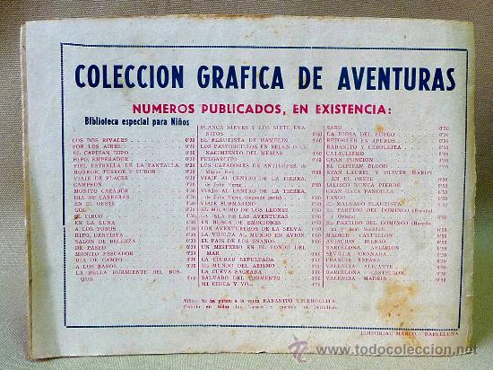 Tebeos: TBO, COMIC, BIBLIOTECA ESPECIAL PARA NIÑOS, EN EL OESTE, HIPO, GRAFICAS MARCO, 1940s - Foto 4 - 23359443
