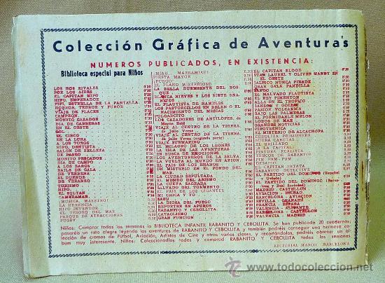 Tebeos: TBO, COMIC, BIBLIOTECA ESPECIAL PARA NIÑOS, CAPITAN HIPO, HIPO, GRAFICAS MARCO, 1940s - Foto 3 - 23359391
