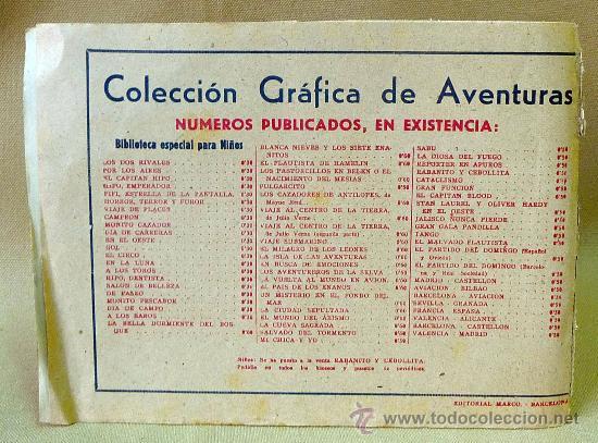 Tebeos: TBO, COMIC, BIBLIOTECA ESPECIAL PARA NIÑOS, VIAJE DE PLACER, HIPO, GRAFICAS MARCO, 1940s - Foto 3 - 23359309