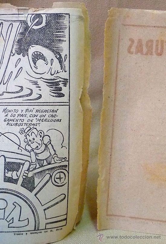 Tebeos: TBO, COMIC, BIBLIOTECA ESPECIAL PARA NIÑOS, HIPO EMPERADOR, HIPO, GRAFICAS MARCO, 1940s - Foto 2 - 23359149