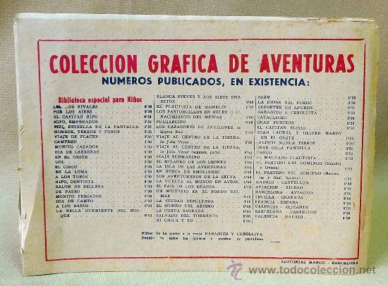 Tebeos: TBO, COMIC, BIBLIOTECA ESPECIAL PARA NIÑOS, HIPO EMPERADOR, HIPO, GRAFICAS MARCO, 1940s - Foto 3 - 23359149