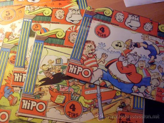 HIPO COLOR ED. MARCO Nº 1 AL 6 LOTE COLECCION COMPLETA (S1) (Tebeos y Comics - Marco - Hipo (Biblioteca especial))